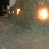 『【休業日】 数年に一度の記録的な大雪&白夜』の画像