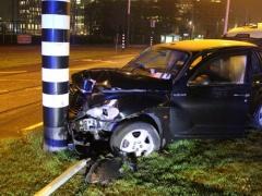 マンCとアルゼンチンに痛すぎる事故・・・アグエロが乗車したタクシーが電柱に衝突!2か月離脱・・・