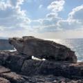 三段壁の「謎の岩」