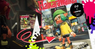 『スプラトゥーン2 オクト・エキスパンション』の資料集「ハイカラウォーカー」が12月28日発売決定!