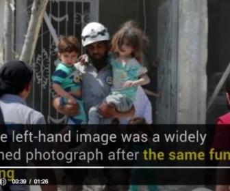 【海外マスコミ】CNNが報じる「シリアで救出される少女」が毎回同じだと話題に (写真あり)