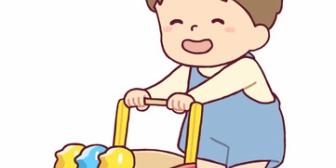 1歳の息子が押し車に座ろうとしてた。→乗って遊ぶ車のおもちゃを買って帰った結果…