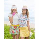 『レディース ゴルフウェア ゴルフデートで着たい!かわいいコーディーネート!』の画像
