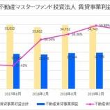『野村不動産マスターファンド投資法人の第8期(2019年8月期)決算・一口当たり分配金は3,209円』の画像