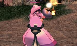 ピンクとピンク