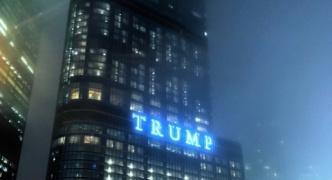 【画像】トランプタワー前が映画の世界