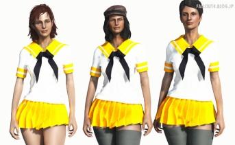 Shino School uniform CBBE