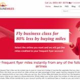 『マイル購入サイトの『BuyAirlineMiles』を覗いてみました。』の画像