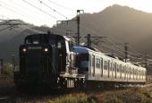 『2020/12/24~25運転 DE10-1755牽引415系Fo104廃車回送』の画像