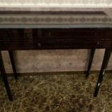 『【2013年4月末まで、レアな家具・松創フェア】黒檀のJinシリーズのコンソールテーブル・No.2』の画像