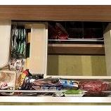 『【全部出し】キッチンで600個。全て覚えていられますか?』の画像