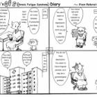 『Kuma-san's CFS Diary【From Referral to Referral】by Yurari | ゆらりさん作・くまさんのCFSつれづれ日記【たらい回し】{#2}』の画像