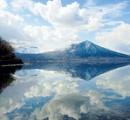 【北海道】支笏湖 水面に映る絶景