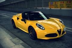 イタリア貴族の車 その名はアルファ・ロメオ『4Cスパイダー』