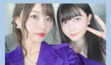【乃木坂46】梅澤美波が久保史緒里と出演する生配信を宣伝!