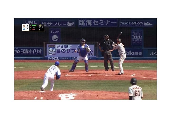 【 朗報? 】巨人・長野、敬遠される!