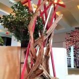『一足お先に、和のクリスマスツリーが登場!』の画像