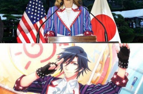 【悲報】ケネディ駐日大使、アニメのコスプレ衣装と知らずに着用して演説wwwwwwwwww画像ありwwwwwwwwwwwwwwwのサムネイル画像