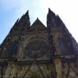 『チェコ旅行記7 まるでステンドグラスの博物館、プラハ城の聖ヴィート大聖堂。ミュシャのもあるよ』の画像