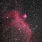 『わし星雲IC2177散光星雲(NGC2327)』の画像