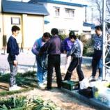 『1996年 4月27日 アンテナ上げ:弘前市・若党町』の画像