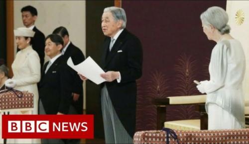 退位された天皇陛下の最後のお言葉と儀式に海外感動
