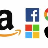 『米国株NYダウ500ドル安、アマゾンドットコム、アルファベット決算失望売り』の画像