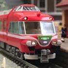 『TOMIX 名鉄7000系 パノラマカー(第47編成)白帯車 入線』の画像