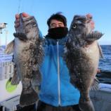 『2021年 1月 2日 釣果 令和3年の初釣行!! スーパーライトジギング クロソイ&寒ヒラメ狙い!!』の画像