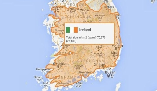 「韓国とアイルランドが一致した」意外な発見が海外で話題に