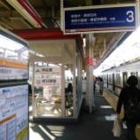 『ローカル線・東武宇都宮線に乗車』の画像