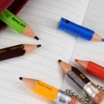 使い切って短くなった「ちびた鉛筆」がリアル造形でガチャフィギュアになった!