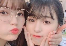 【衝撃】岩本連加×大園桃子、れんたんの眼鏡姿可愛いなwwwww