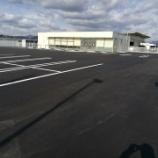『岐阜県本巣市 コンビニ駐車場 アスファルト舗装工事』の画像