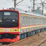 『205系武蔵野線第6陣、M62編成運輸省試運転(11月29日)』の画像