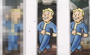 『Fallout 76』の巨大ミューラルは6月11日に完成予定!