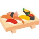 J( 'ー`)し「お寿司買ってきたわよー!」彡(^)(^)「!」ドタドタ(階段を駆け下りる音)