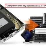 『SATA 2.5インチHDD/SSD搭載可能3.5インチサイズ変換アダプタ(MB482SP-3B)』の画像