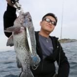 『10月7、8、9日 釣果 7日は悪天候中止 8,9貸切釣行スロージギング』の画像