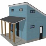 『狭小住宅依頼物件 1F6坪 ロフト3坪 建築確認申請中』の画像