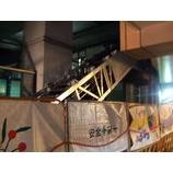 『戸田公園駅店舗へのエスカレーター工事』の画像