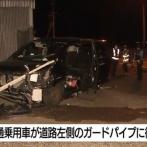 免許取立て長女(20)が家族を乗せてドライブ、ガードパイプに衝突し次女(17)が死亡 父親も重体