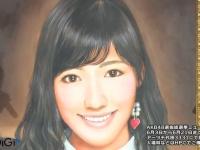 AKB48選抜総選挙ミュージアムでまゆゆの肖像画が公開に!