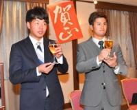 【阪神】板山「行って良かった」源田と合同トレ守備収穫