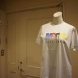 『MSGM(エムエスジーエム)マルチカラーロゴTシャツ』の画像
