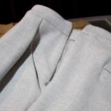 『【irise】 新作サイドジップタックパンツ』の画像