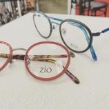 『カラフルなラウンド型メガネ『zio eyewear』』の画像