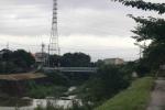 近くに歌碑もある!天の川にかかる織姫と彦星が逢う逢合橋(あいあいばし)の今年の様子。