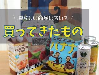 【カルディ】「コーヒーかき氷シロップ」が大人味で美味しい!夏らしい商品を色々買ってきた