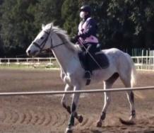 『【カントリー・ガールズ】山木梨沙ちゃんの騎乗姿が結構ガチな件』の画像